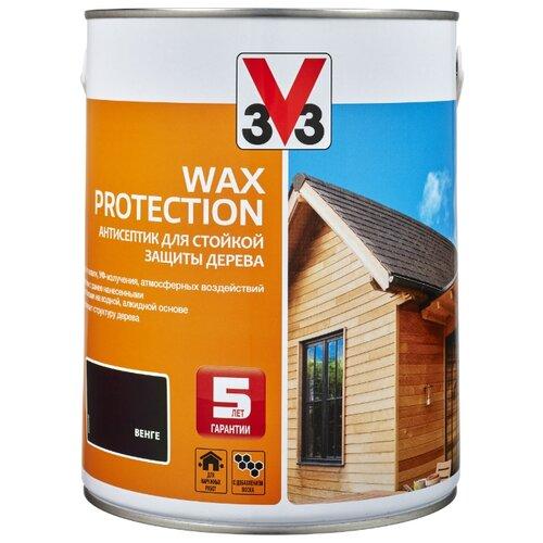 V33 Wax Protection венге 2.5 л