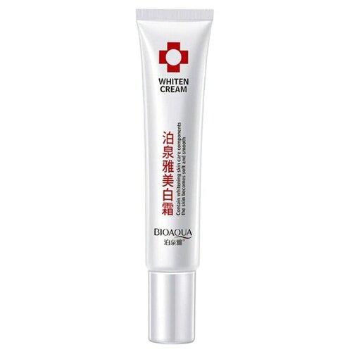 BioAqua Whiten Cream Отбеливающий крем для лица, 20 г хороший отбеливающий крем для лица недорогой