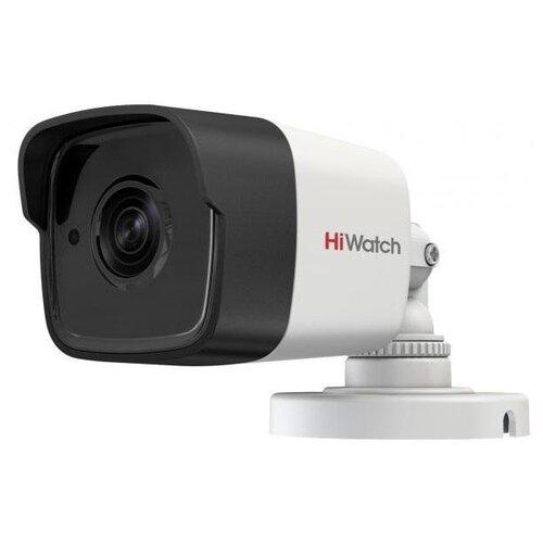 Камера видеонаблюдения HiWatch DS-T500 B (2.8 mm) черный/серый ip камера hiwatch ds i102 4 mm