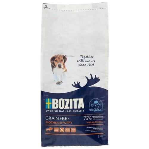 Сухой корм для щенков Bozita курица, лось с картофелем 2 кг сухой корм для собак bozita баранина с картофелем 3 5 кг