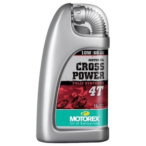 Фото - Синтетическое моторное масло Motorex Cross Power 4T 10W-60 1 л синтетическое моторное масло motorex power synt 4t 5w 40 4 л