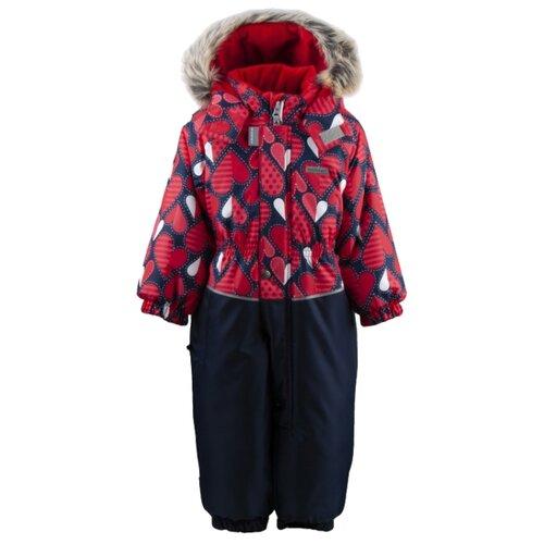 Купить Комбинезон KERRY DORA K19419A размер 80, 06220 красный/темно-синий, Теплые комбинезоны