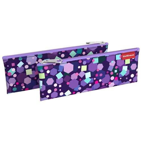 Купить ErichKrause Пенал-конверт Candy (49012) фиолетовый, Пеналы