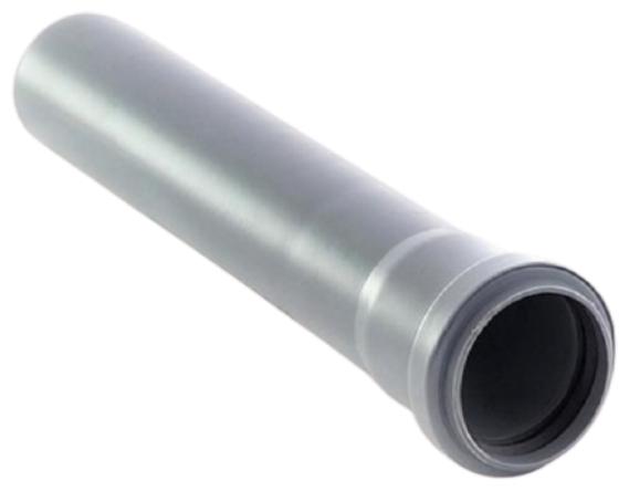 Купить Труба канализационная пластиковая Политэк 111075 110х2,7х750 с раструбом по низкой цене с доставкой из Яндекс.Маркета