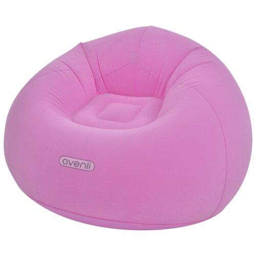 Надувное кресло Jilong Lazy Sofa 27499 розовый