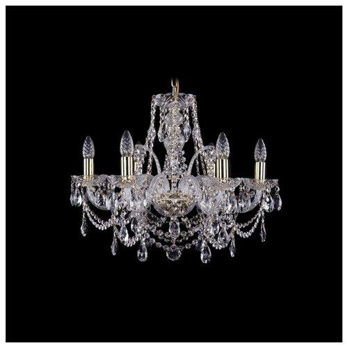 Фото - Люстра Bohemia Ivele Crystal 1411 1411/6/195/G, E14, 240 Вт люстра bohemia ivele crystal 1411 1411 12 6 300 h 94 g e14 720 вт