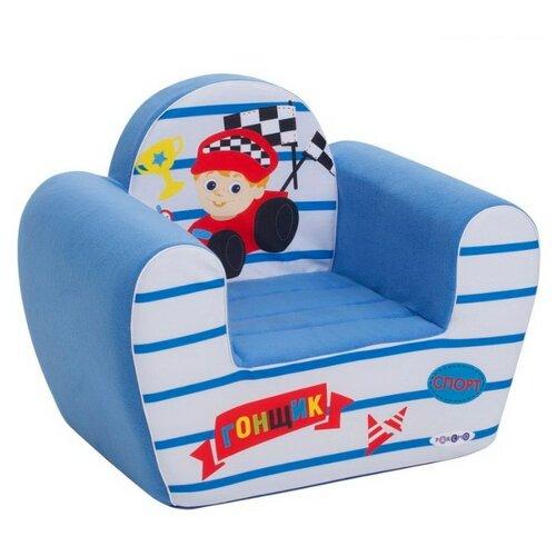 Классическое кресло PAREMO детское PCR317 размер: 54х38 см, обивка: ткань, цвет: Экшен Гонщик