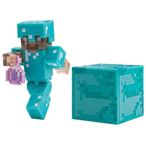Купить Фигурка Jazwares Minecraft Steve with Invisibility Potion TM19976, Игровые наборы и фигурки