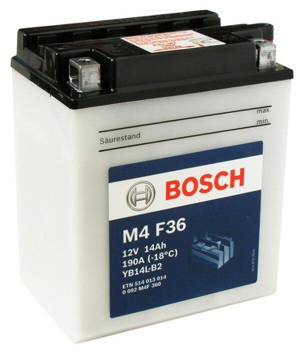 Аккумулятор Bosch M4 F36 (0 092 M4F 360)