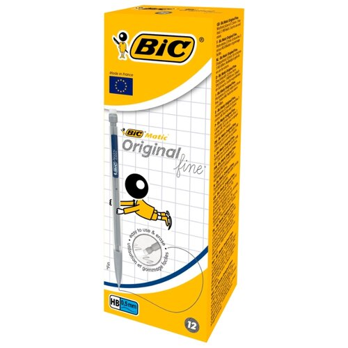 BIC Механический карандаш Matic HВ, 0.5 мм, 12 шт.