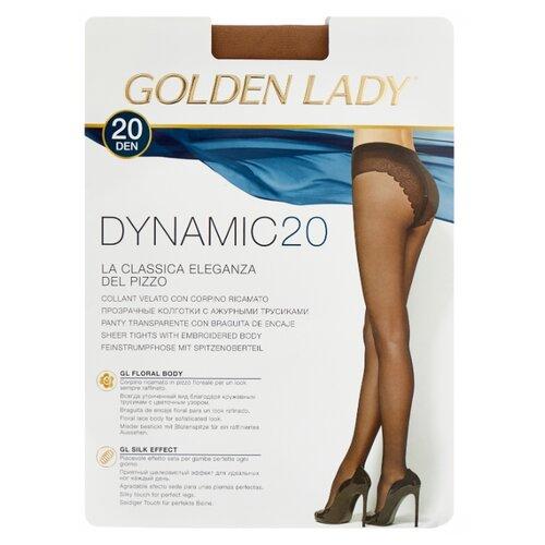цена Колготки Golden Lady Dynamic 20 den, размер 2-S, melon (бежевый) онлайн в 2017 году