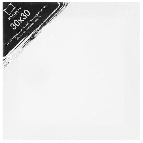 Холст Малевичъ на подрамнике 30x30 см (213030) малевичъ пенал скрутка для кистей на короткой и средней ручке оливковый