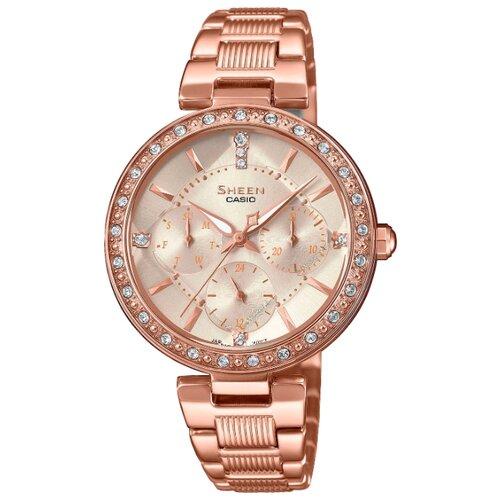 цена Наручные часы CASIO SHE-3068PG-4A онлайн в 2017 году