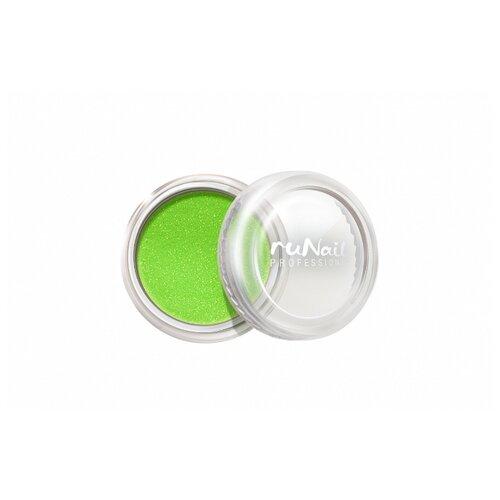 Втирка Runail Пыль светло-зеленый