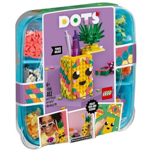 Купить Конструктор LEGO DOTS 41906 Подставка для карандашей Ананас, Конструкторы