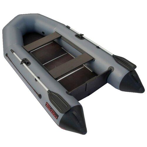 Надувная лодка Leader Тайга Т-270 К NEW серый надувная лодка leader компакт 200 зеленый