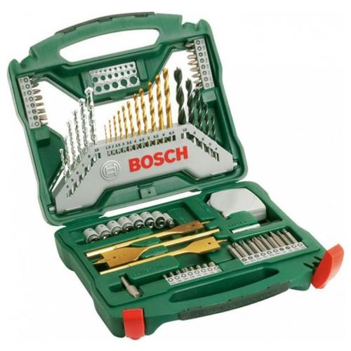 Набор оснастки Bosch X-Line 70шт+плоскогубцы набор отверток bosch x line 46 2 607 019 504