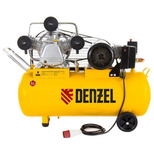 Компрессор масляный Denzel PC 3/100-504, 100 л, 3 кВт