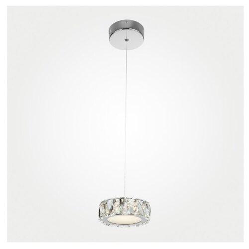 Светильник светодиодный Eurosvet Grasia 90048/1 хром, LED, 6 Вт светильник светодиодный eurosvet range 40005 1 кофе led 54 вт