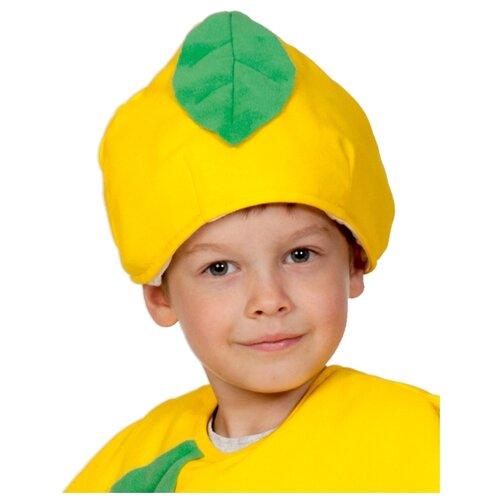 Купить Маска КарнавалOFF Лимон (4126), желтый, размер 53-55, Карнавальные костюмы