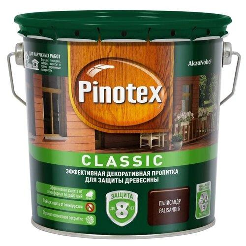 Фото - Водозащитная пропитка Pinotex Classic палисандр 2.7 л водозащитная пропитка pinotex classic светлый дуб 1 л