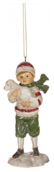 Goodwill Ёлочная игрушка Мальчик Чарли и его друг Ральф 11.5 см, подвеска MC 34057