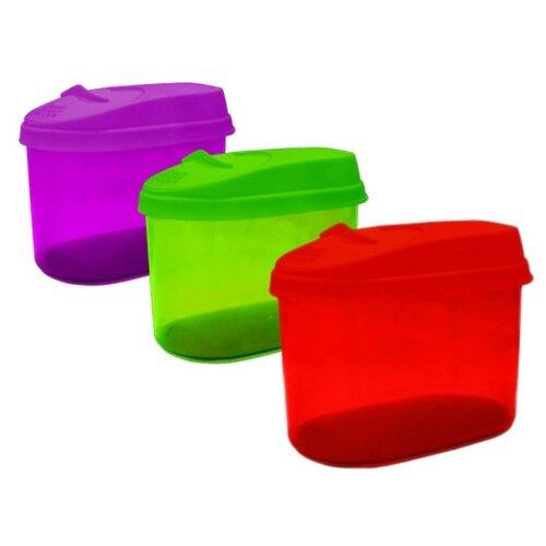 банка для сыпучих продуктов с дозатором giaretti krupa 0 5 л оливковый gr2234ол Банка для сыпучих продуктов Optima с дозатором, 0,8 литра
