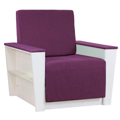 Кресло-кровать Шарм-Дизайн Бруно 2 размер: 88х90 см, , размер спального места: 190х61 см, обивка: ткань, цвет: фиолетовый