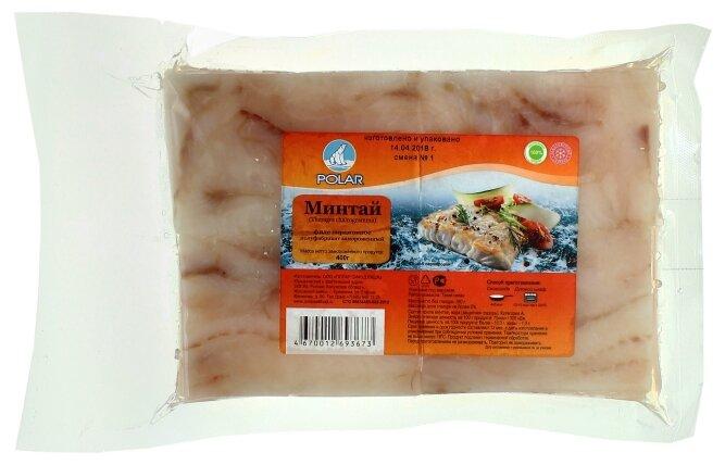 Polar Замороженный минтай филе 400 г
