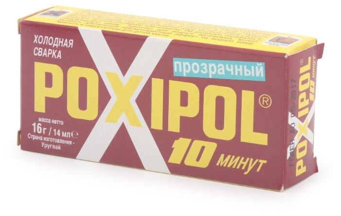 Клей холодная сварка Poxipol 10 минут прозрачный 00267 0.014 л