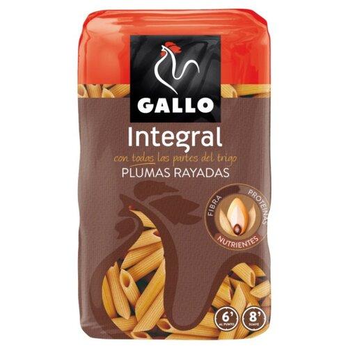 Gallo Макароны Integral Plumas Rayadas перья, 500 г gallo макароны integral plumas rayadas перья 500 г