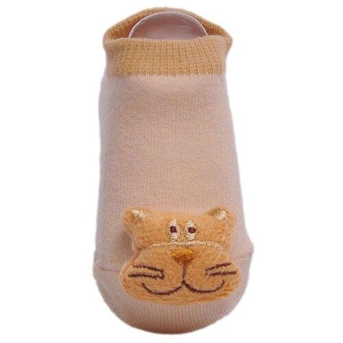 Купить Носки Lansa размер 18-20, бежевый/светло-коричневый