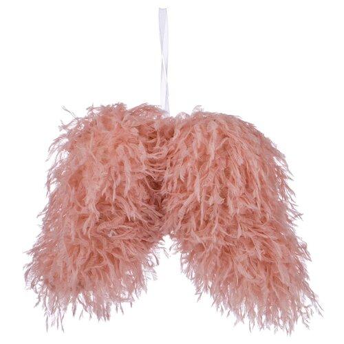 Елочная игрушка Lefard 535-237, розовый, 22 см