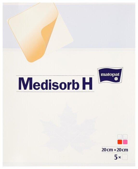 Matopat повязка гидроколлоидная Medisorb H (20х20 см)