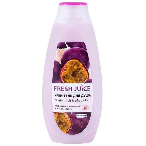 Купить Крем-гель для душа Fresh Juice Passion fruit & magnolia, 400 мл