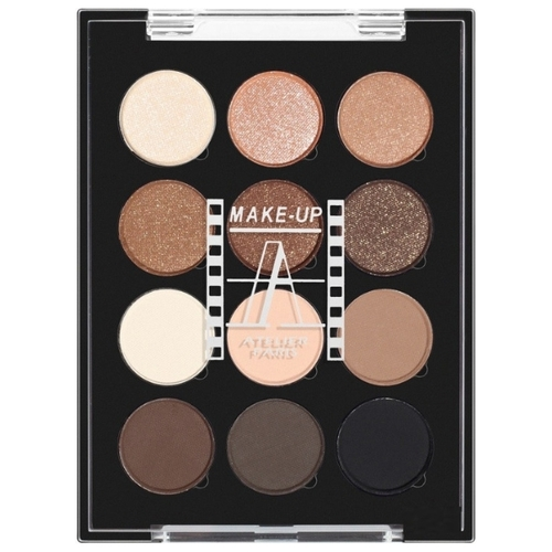 Make-up Atelier Paris Палетка теней 12 Eyeshadows Palette