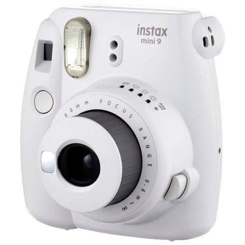 Фото - Фотоаппарат моментальной печати Fujifilm Instax Mini 9 smoky white fujifilm colorfilm instax mini pink lemonade 10 1pk 8 6x5 4cm 16581836