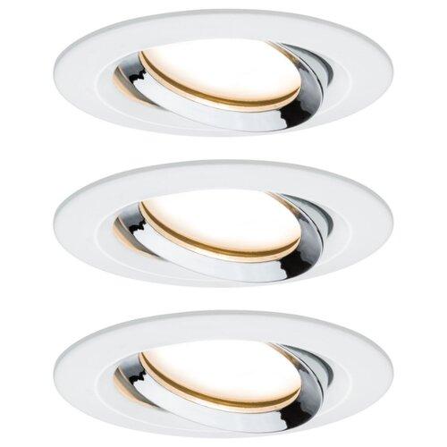 Встраиваемые светильники Nova Plus Coin dim 3x6,8 rd schw W C 93686