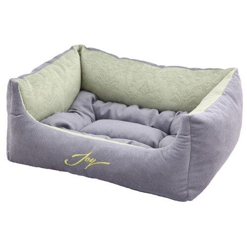 Лежак для собак и кошек Joy Spring 44х38х18 см серебристый