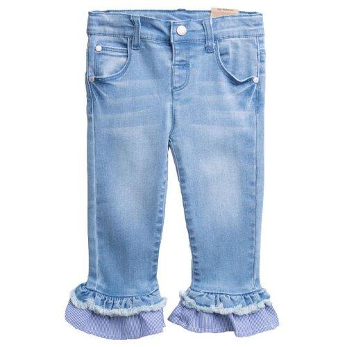 Джинсы playToday размер 74, голубой джинсы playtoday playtoday mp002xb00a99