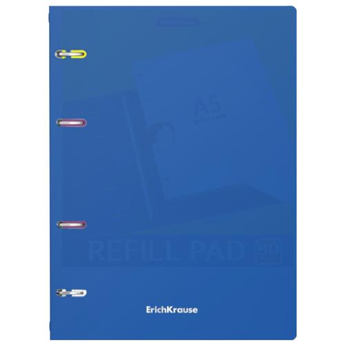 Купить ErichKrause Тетрадь на кольцах Classic 080355253, клетка, 80 л. синий, Тетради