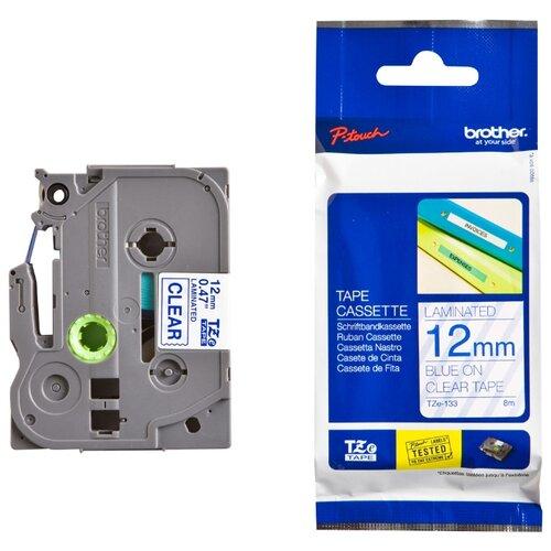 Фото - Картридж для этикет-принтеров Brother, арт. TZe-133 (12 мм) картридж для принтера этикеток brother арт tze 253 24 мм