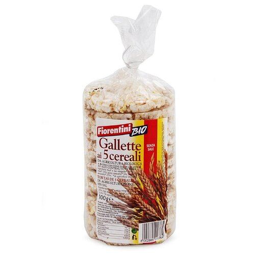 Хлебцы мультизерновые Fiorentini Bio, 100 г aff associazione artigiani fiorentini пальто