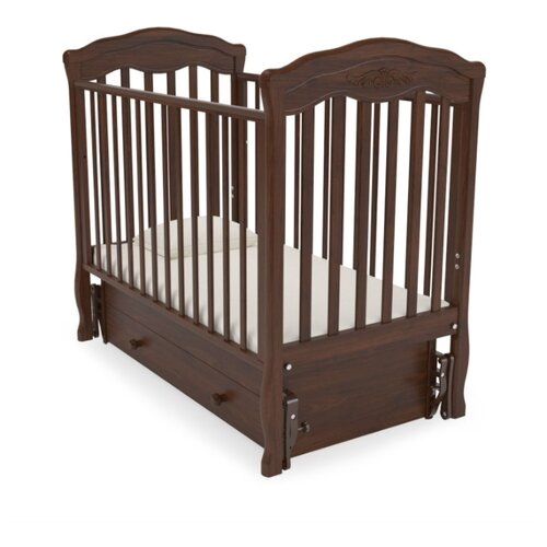 Кровать детская GANDYLYAN К-2003-2м Шарлотта маятник универсальный (орех) gandylyan кроватка gandylyan дашенька маятник универсальный орех