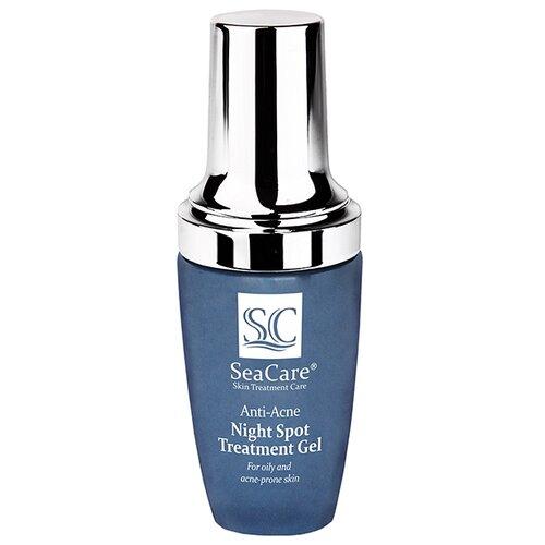 Купить SeaCare Анти-Акне Точечный Ночной Гель от Прыщей и Угрей Anti-Acne Night Spot Treatment Gel, 30 мл