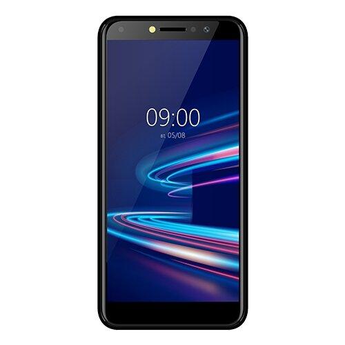 Смартфон BQ 5540L Fast Pro, черный смартфон bq 5045l wallet черный