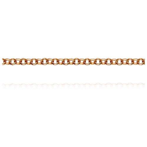 АДАМАС Цепь из золота плетения Роло ЦРЛ1П60-А51, 45 см, 3.33 г