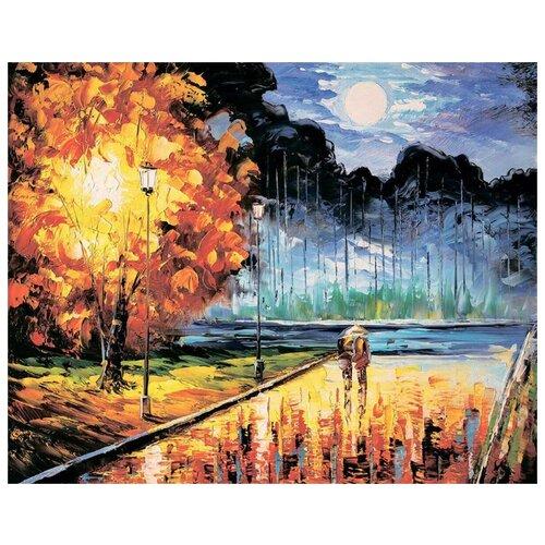 Фото - Алмазная вышивка Цветной Осенний блюз, 50x40 игорь сергеевич фурсов осенний блюз усталой души