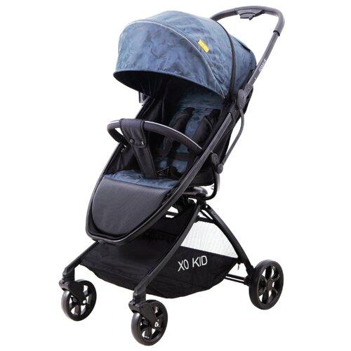 Прогулочная коляска XO KID Asmus grey xo b12 bluetooth silver