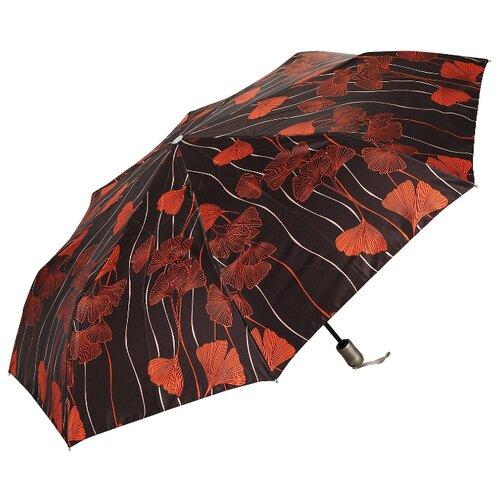 Фото - Женский зонт складной Doppler, артикул 74665GFGR03, модель Romance мужской зонт трость doppler артикул 71963dmas спицы из фибергласа купол 130 см вес 350 грамм